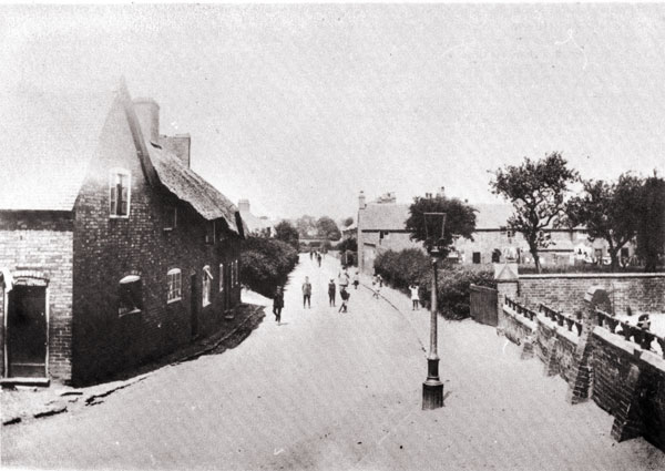looking down hinckley road