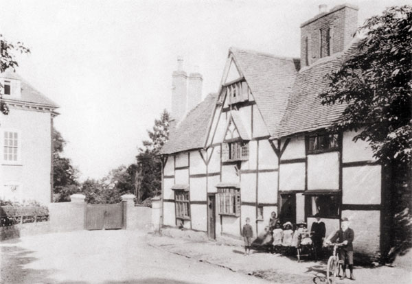 the grange along aston lane in 1911