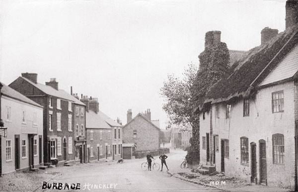 church street looking south in 1910
