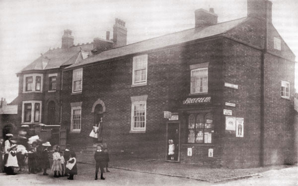 the first burbage post office