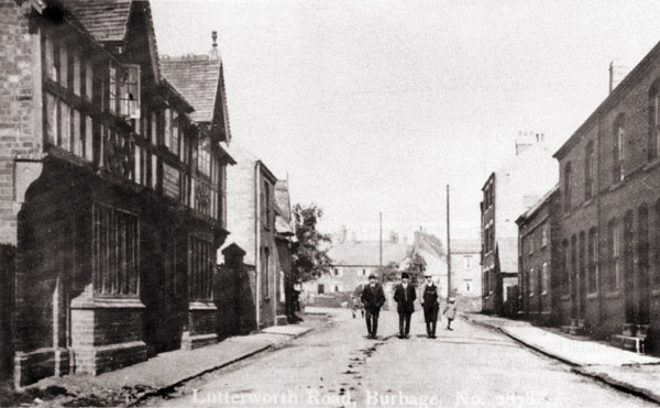 lutterworth road during early 1920s