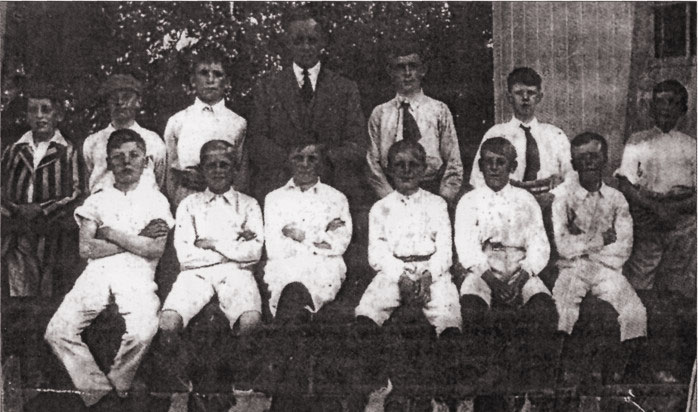 Burbage Cricket Club 1911