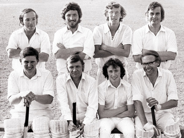 Mid week 8-a-side winners in 1976
