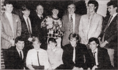 Victorious Minor Division Champions in 1984 or 1985 — Burbage won both years