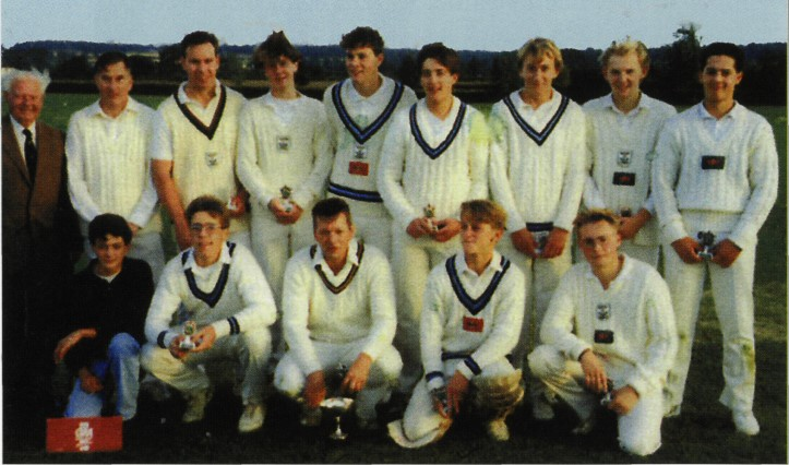 Burbage 2nds win the Burbage Cup in 1989