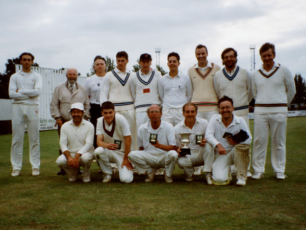 Burbage 1st team victorious again in 1994 with the Norton Cup