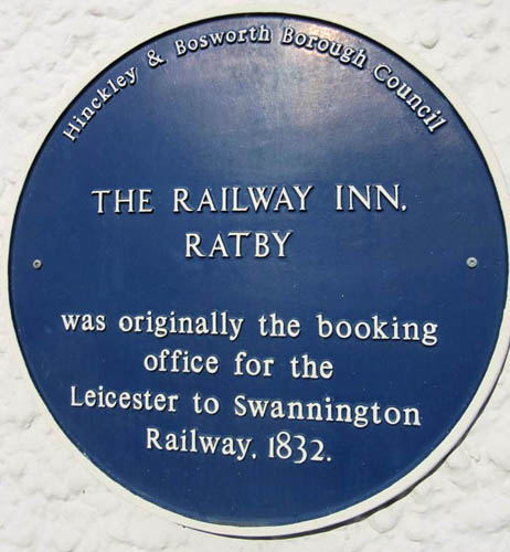 Blue Plaque for the Boooking Office