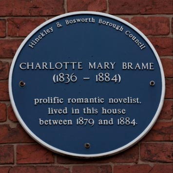 Blue Plaque for Charlotte Mary Brame