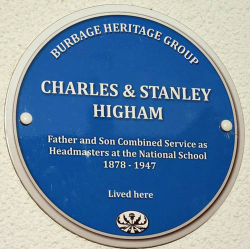 Blue Plaque for Charles Higham