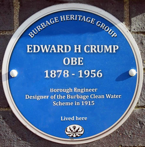Blue Plaque for Edward Crump