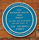 Blue Plaque for the Mansion House and Parke