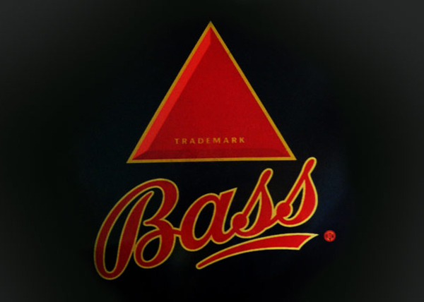 bass brewery red triangle trademark