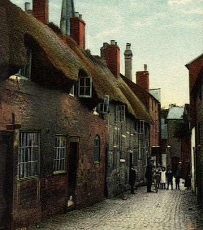 The Church Walk Cottages c.1905