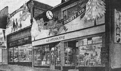 new central stores, castle street, hinckely