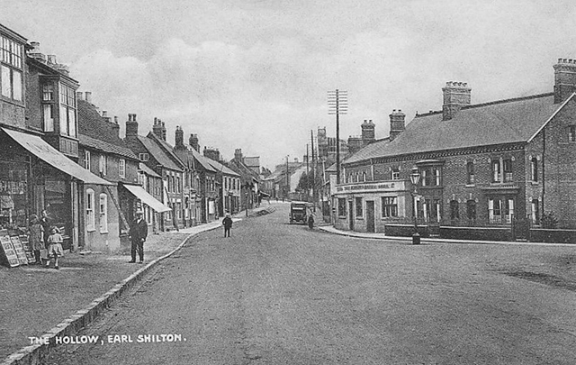 the hollow in earl shilton during the 1920s