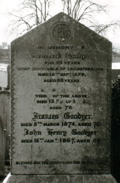 Gravestone at Welford Road Cemetery