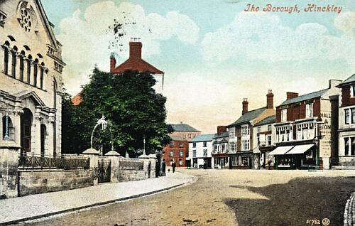 The Borough, about 1905, with Congregational Chapel in foreground.