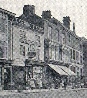 Pickering and Sons prior to rebuilding, about 1905