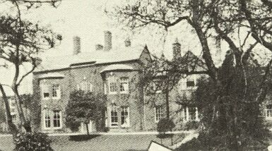 Castle Hill House from Argents Mead, c.1910