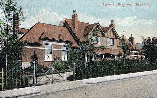 Hinckley Cottage Hospital along Mount Road