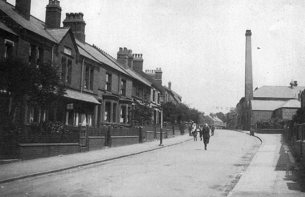 Factory Lane in 1924