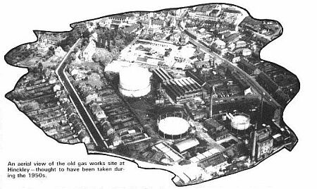Hinckley Gas Works in the 1950s