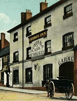 The George Inn, about 1905
