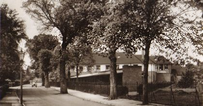 Grammar School from Butt Lane, about 1915