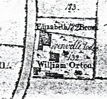 map of william ortons land
