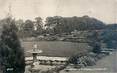 Hollycroft park in its heyday, about 1940