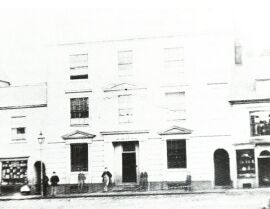 Bank House in hinckely about 1860
