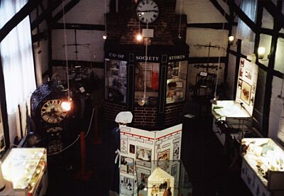 Museum interior from gallery, May 2004