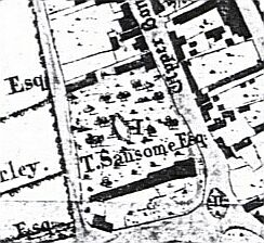 Edward Phillips' map of 1818