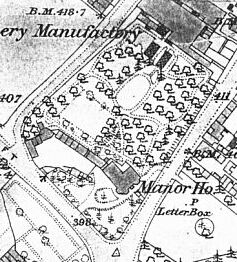 the 1885-6 Ordnance Survey map