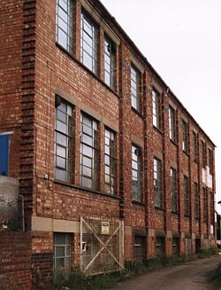 The Mill Hill factory, 2000