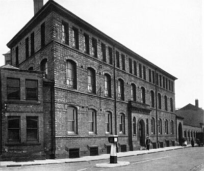 The factory, about 1940