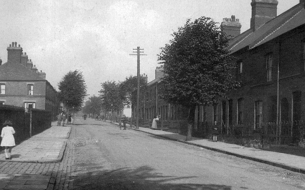 Queens Road about 1915