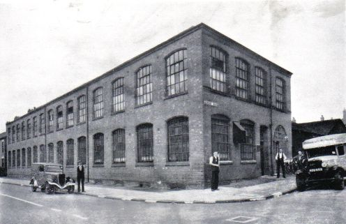Manchester Hosiery Company works, Queens Road, in about 1940