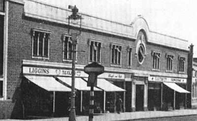 The Regent Building in the 1950s.