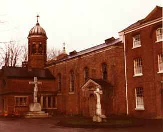 photograph taken c.1974, shortly before demolition of church