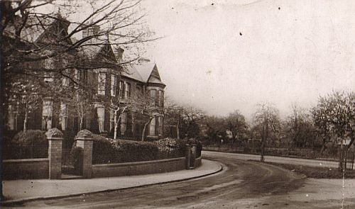 Spa Lane about 1915
