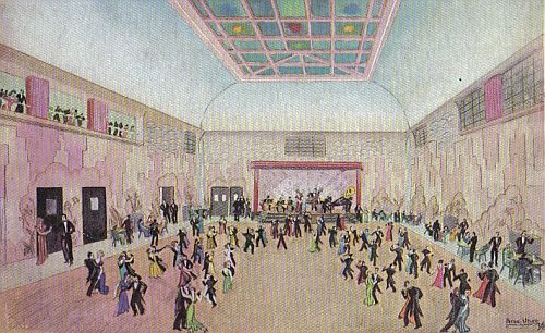 Artist's impression of St. George's ballroom shortly after its opening in 1935