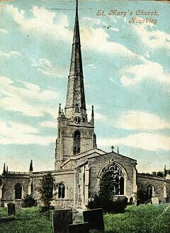 St. Mary's from the east, about 1905