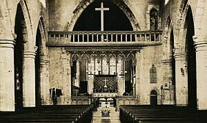 Rood screen and cross, 1905