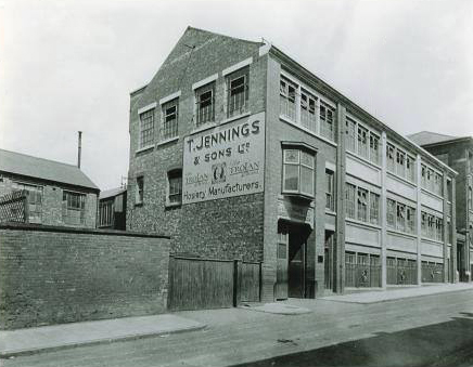 T. Jennings and Sons Ltd. in the early 1930s, prior to extension