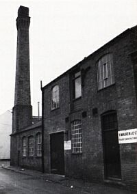 Thomas Paynes first steam powered factory