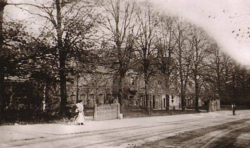 Hinckley Workhouse from the London Road, about 1915