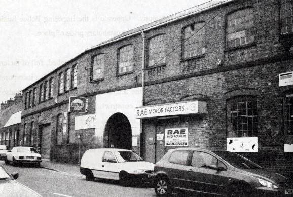 Daniel Payne and Sons old factory, Factory Road