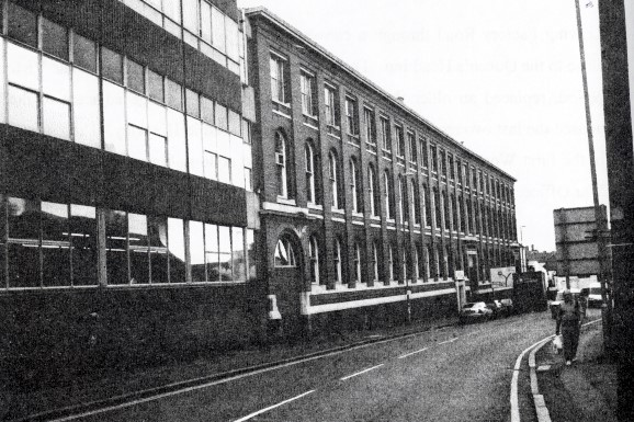 Akins old factory, Lower Bond Street