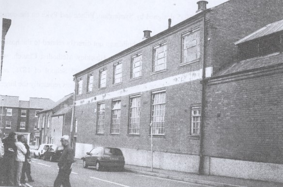 The old Co-operative Steam Bakery, Well Lane
